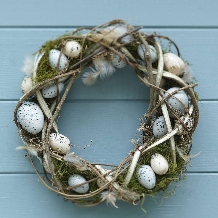 rustic easter egg wreath - Yahoo Image Search Results