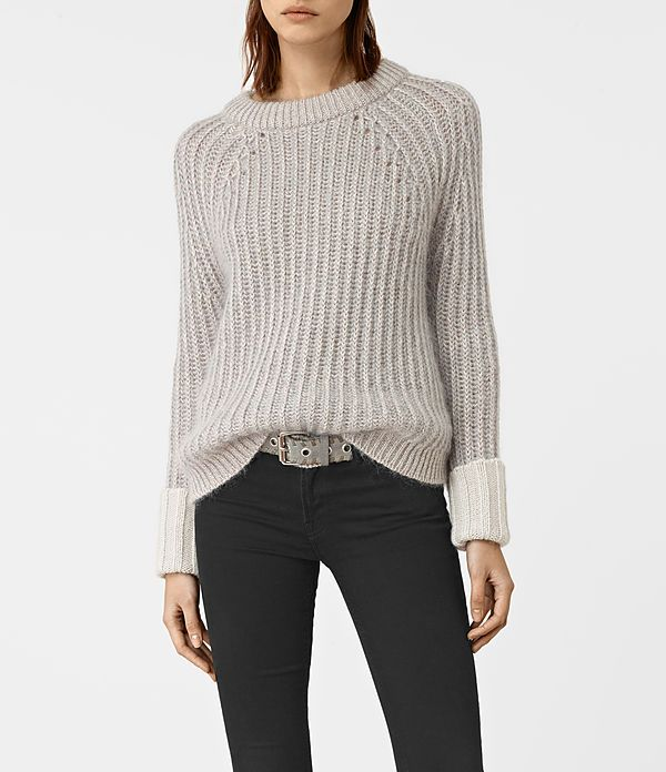 Luxe and cosy, rock the ribbed knit