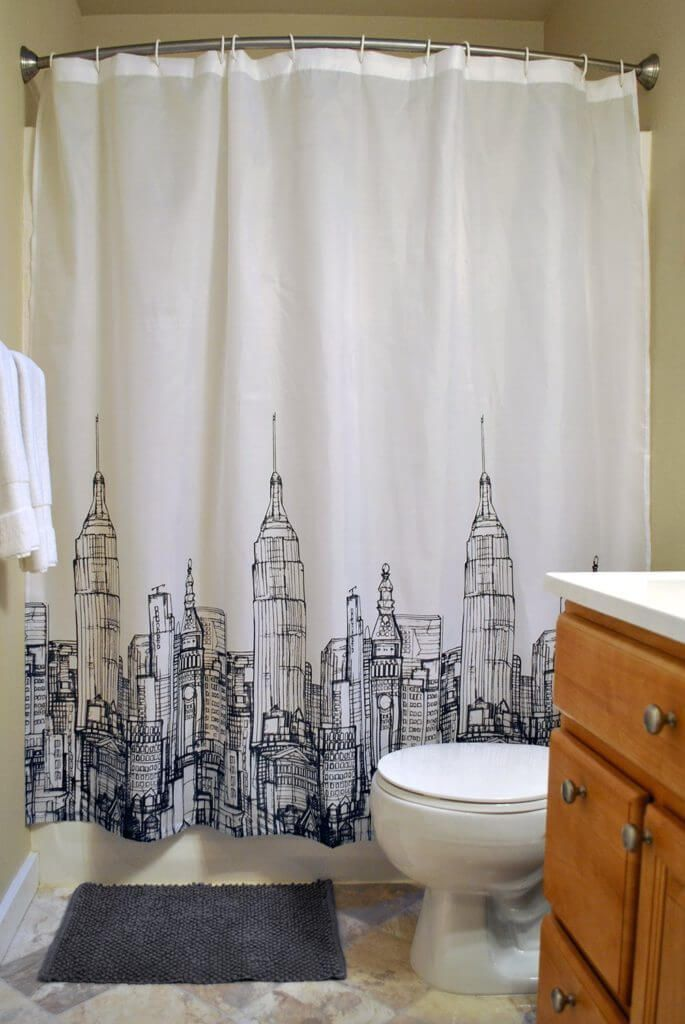 New Bathroom Shower Curtain Sets Can Give Your Bath A New Look