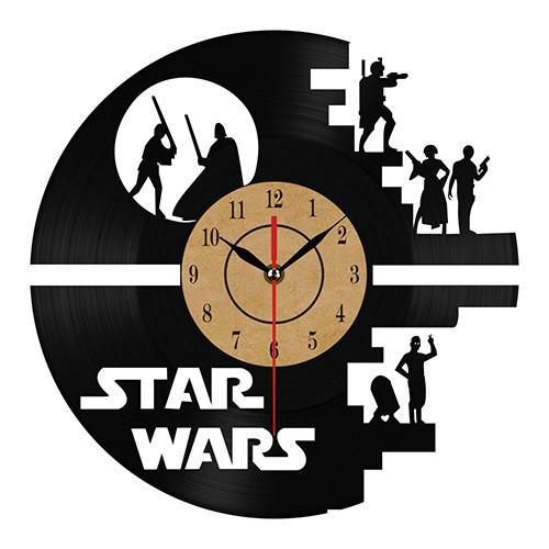 Star Wars Characters Novelty Clock Gift | $$49.87 | Best SALES on Unique Quality Home Decor, Wall Art and Throw Pillows