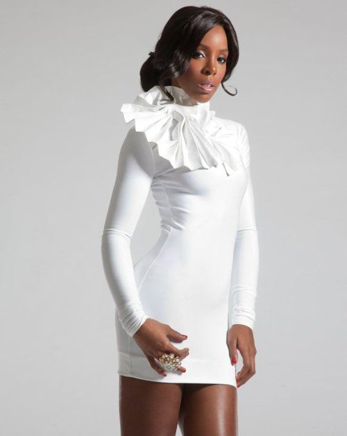 Kelly Rowland Trendsetters Kelly Rowland All White Outfit