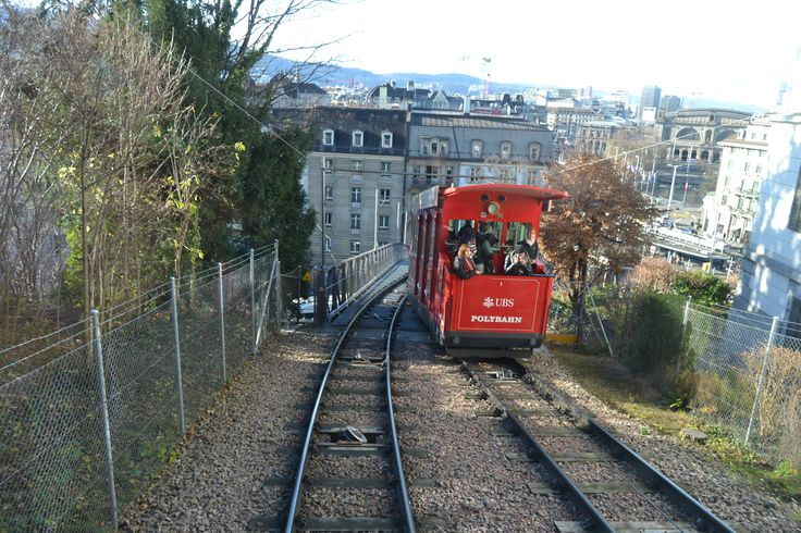 Polybahn in Zürich, Zürich (Cable car with good views of city)