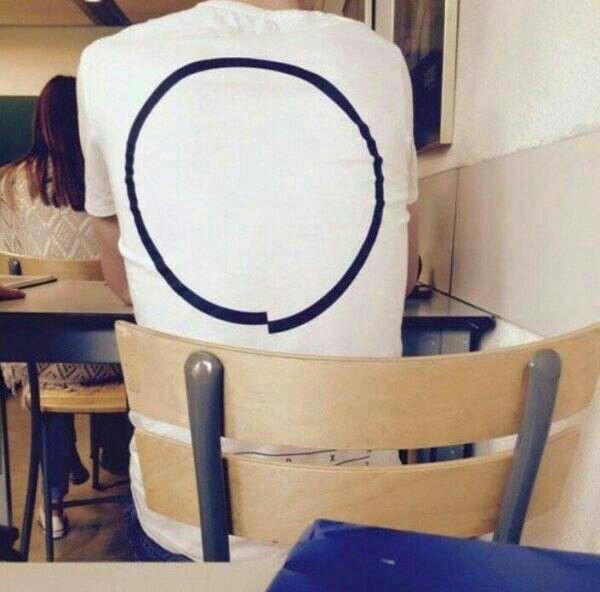 OCD test shirt