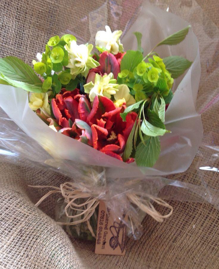 April Tulip bouquet https://www.facebook.com/gatheredgarden