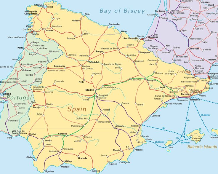 The Best Map Of Portugal Ideas On Pinterest Sintra Portugal - Portugal map major cities