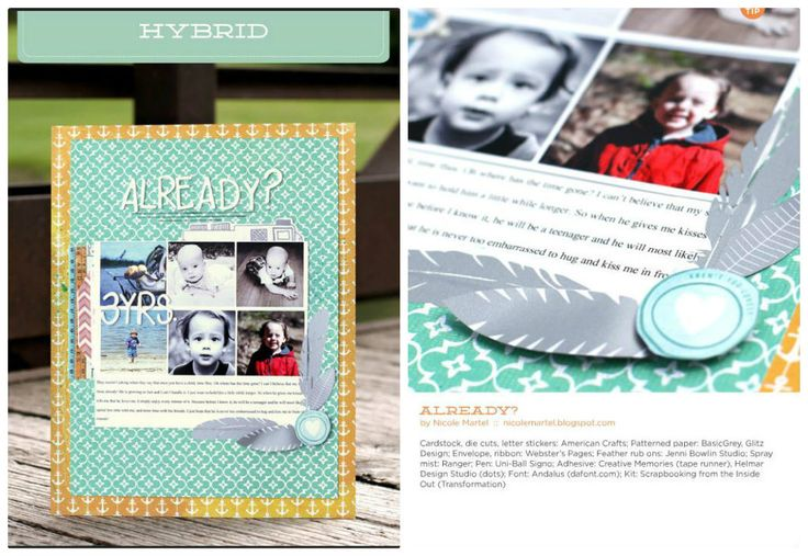Already published in November 2013 Scrapbook Trends