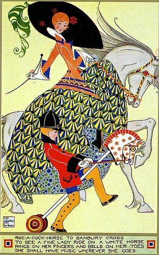 Joyce mercer art deco illustration