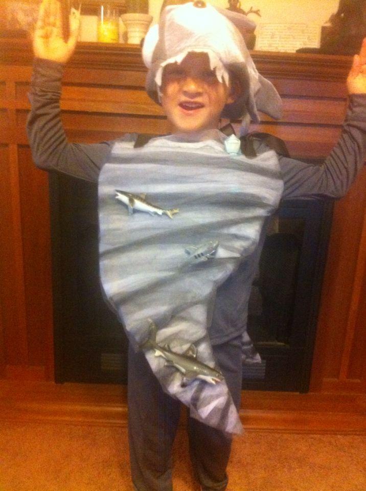 Child friendly SHARKNADO costume.