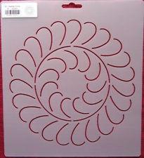 25 best Quilting Stencils images on Pinterest | Quilting stencils ... : feather quilting stencils - Adamdwight.com
