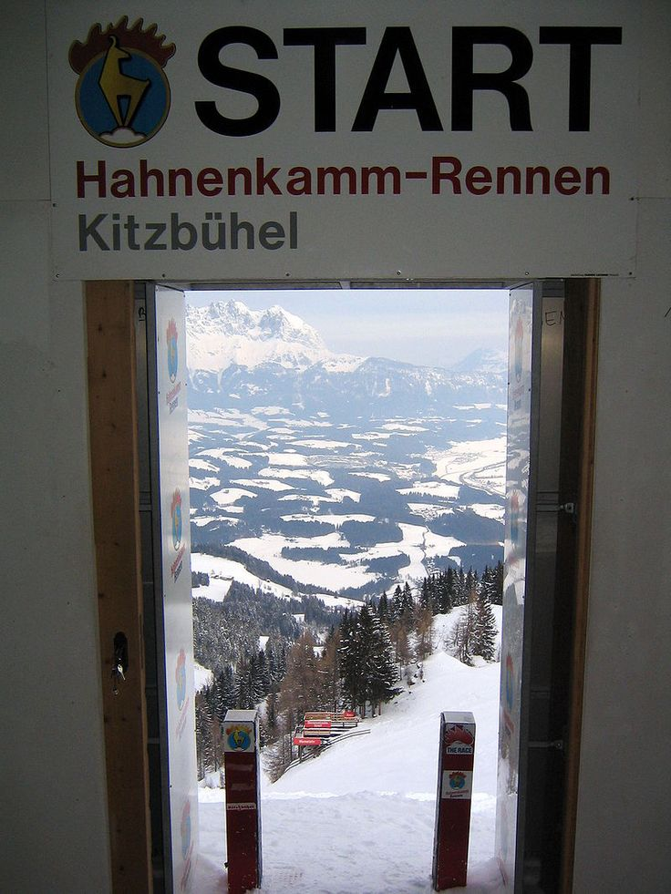 Starthaus Streiff Abfahrt - Hahnenkamm, Kitzbühel - Wikipedia