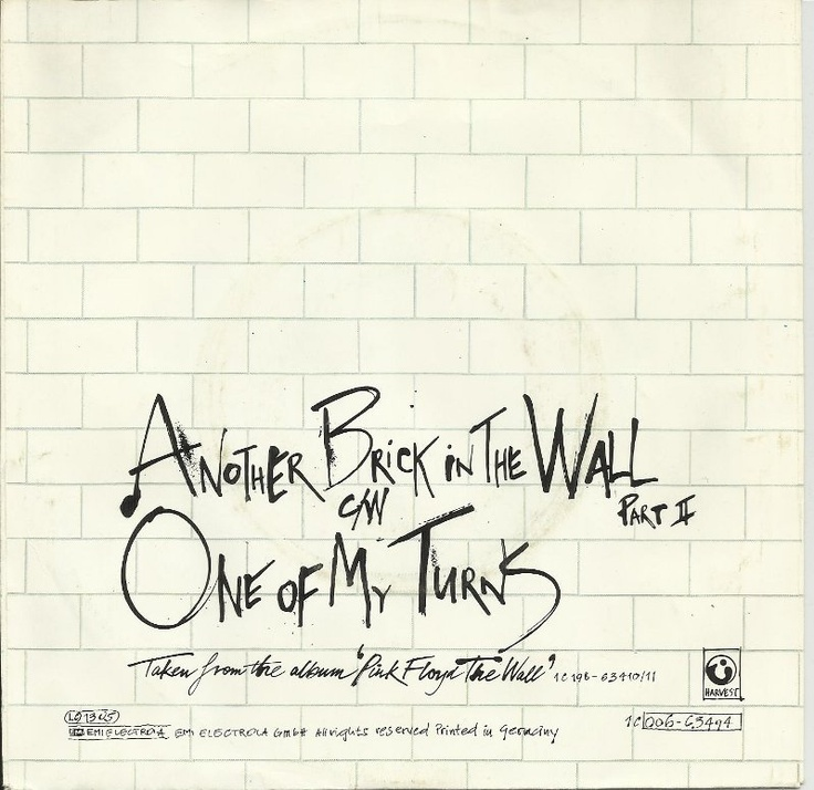 Pink Floyd - Another Brick In The Wall, 1979