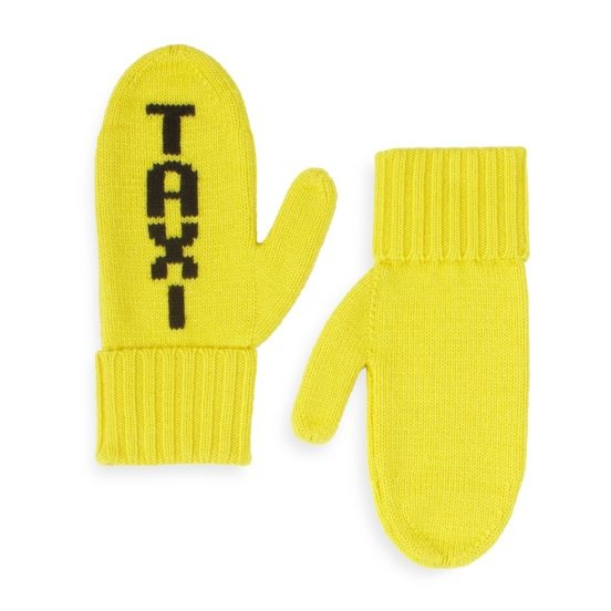 kate spade | taxi mittens