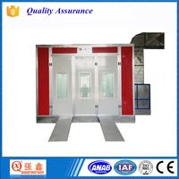 CE Approved Good Quality Car Care Equipments Spray Paint Booth