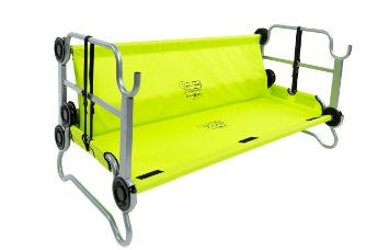 Amazon.com : Disc-O-Bed Youth Kid-O-Bunk with Organizers, Lime Green : Sports & Outdoors