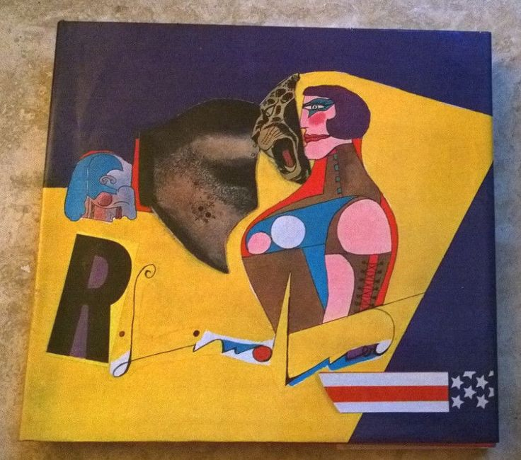 Richard Lindner 187 Illustrations 52 Hand Tipped Plates In Full Color 1969