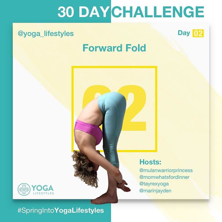Fantastic pictures and videos still coming in from day one #mountainpose. We are so excited to see what's to come. Remember you can always catch up with us if you missed a day. Don't forget to tag our host and sponsors.  Day 2 Forward Fold (Uttanasana) #forwardfold #standingforwardfold #forwardbend - This pose calms the mind while stretching and rejuvenating the whole body.  Stand up straight.  Keeping your back straight start bending down toward your toes.  Exhale as you bend forward. When…