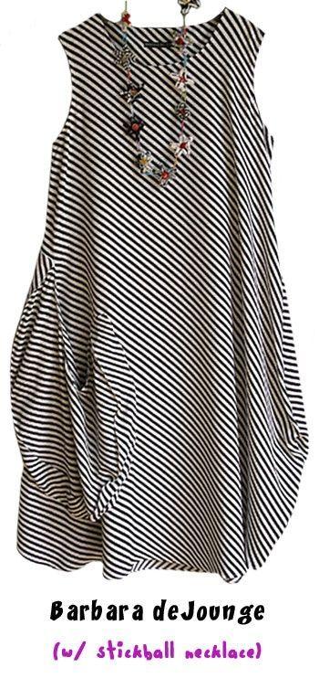 Robe de style minimaliste, Barbara de Jounge