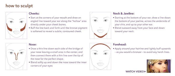 how to sculpt | tarte cosmetics the sculptor contouring face slenderizer