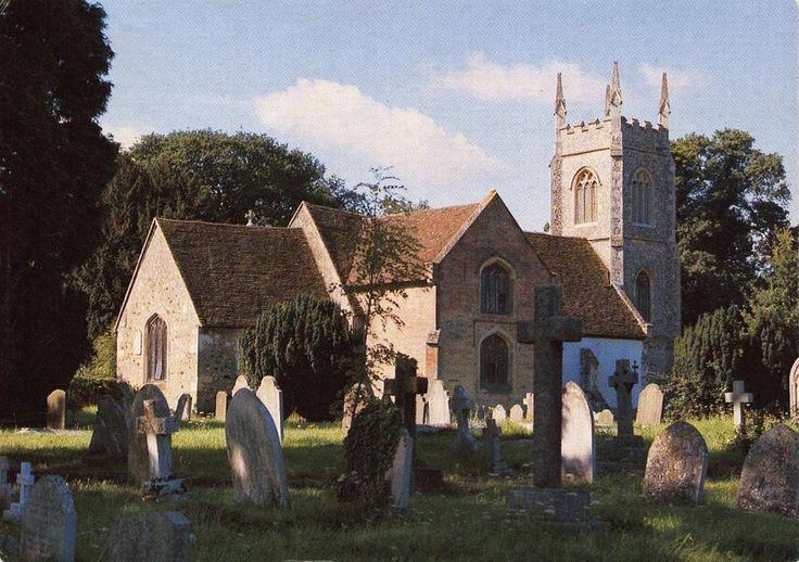#retweet #postcard Postcard HARTLEY WINTNEY St Marys Church HAMPSHIRE http://stores.ebay.co.uk/stampsvintage
