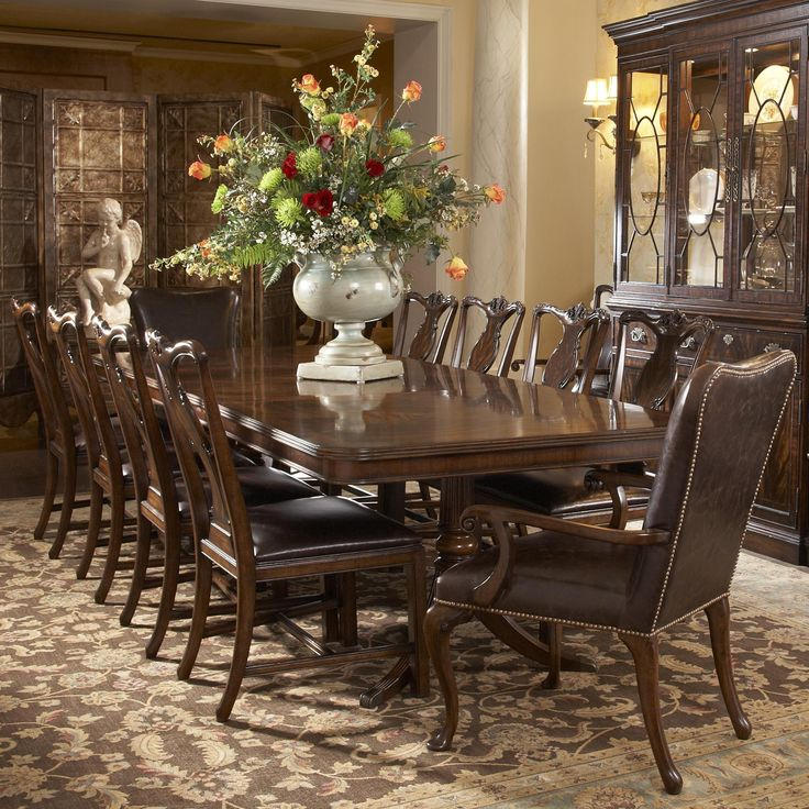 Kitchen Table Leather Chairs
