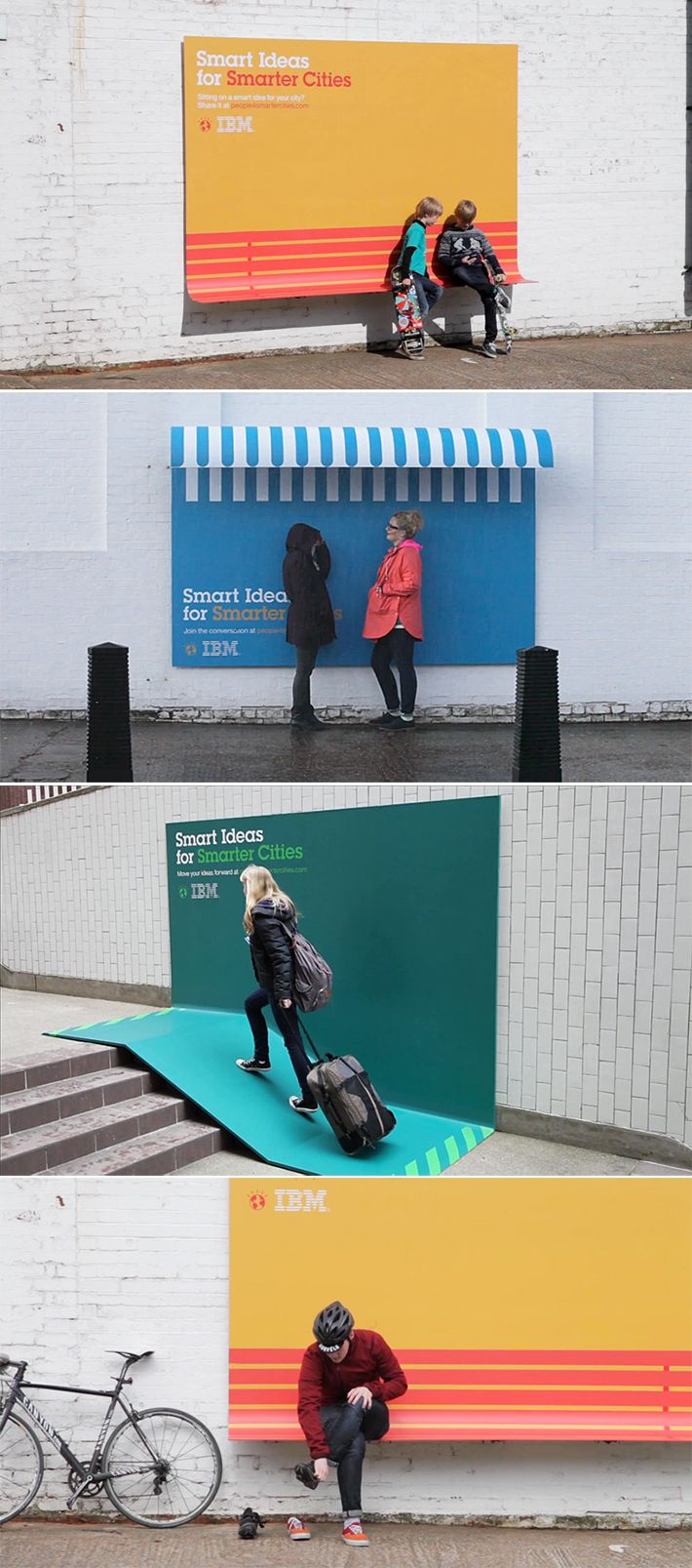 Smart Ideas for Smarter Cities - IBM invente la publicité intelligente