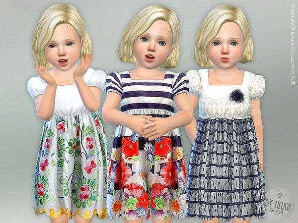 Toddler Dresses Collection P25 - The Sims 4 Download - SimsDom