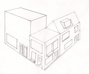 10 best images about perspectief on pinterest tes met for 3d tekening maken van badkamer