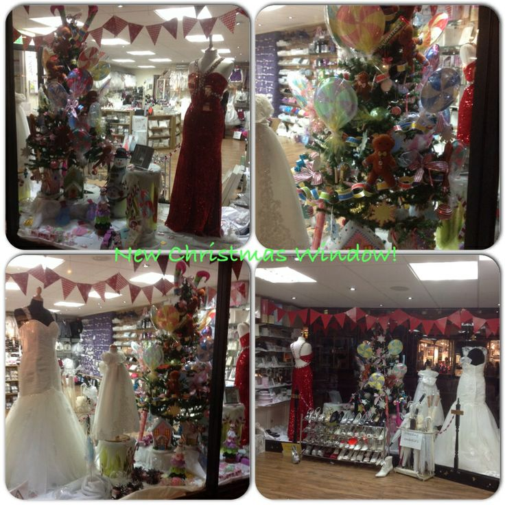 Our new look window for Christmas