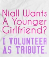 I VOLUNTEER AS TRIBUTE! << How young is 'Younger' though...........?