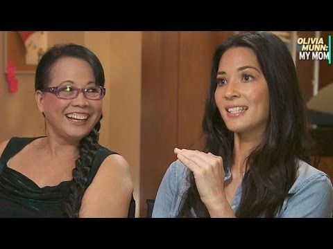 EXCLUSIVE: Olivia Munn Once Bought Her Mom a House for Mother's Day - YouTube