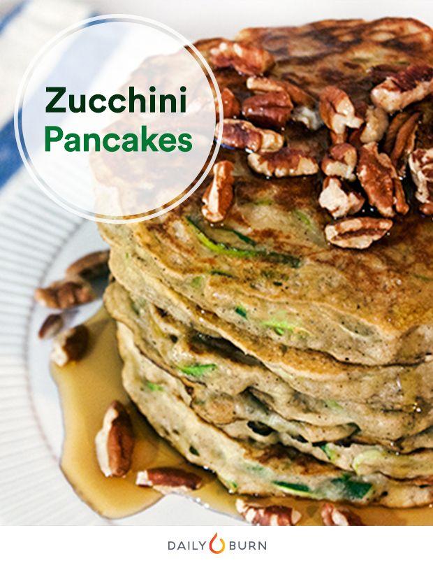 Zucchini Bread Pancake Recipe | Zucchini, Breakfast and Pancake ...
