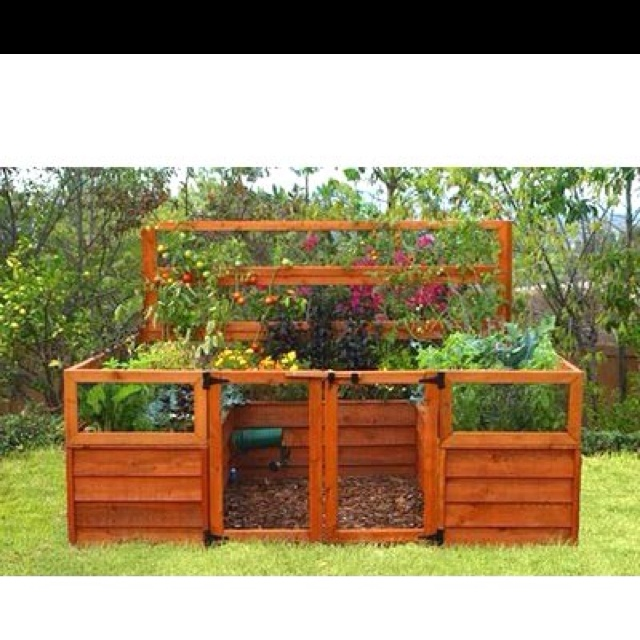 My new vegetable garden purchase can 39 t wait to install for How to lay out a small vegetable garden