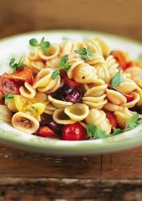 This is great, but it's one of those dishes that's only as good as the ingredients you put in. Think good olive oil and ripe tomatoes!