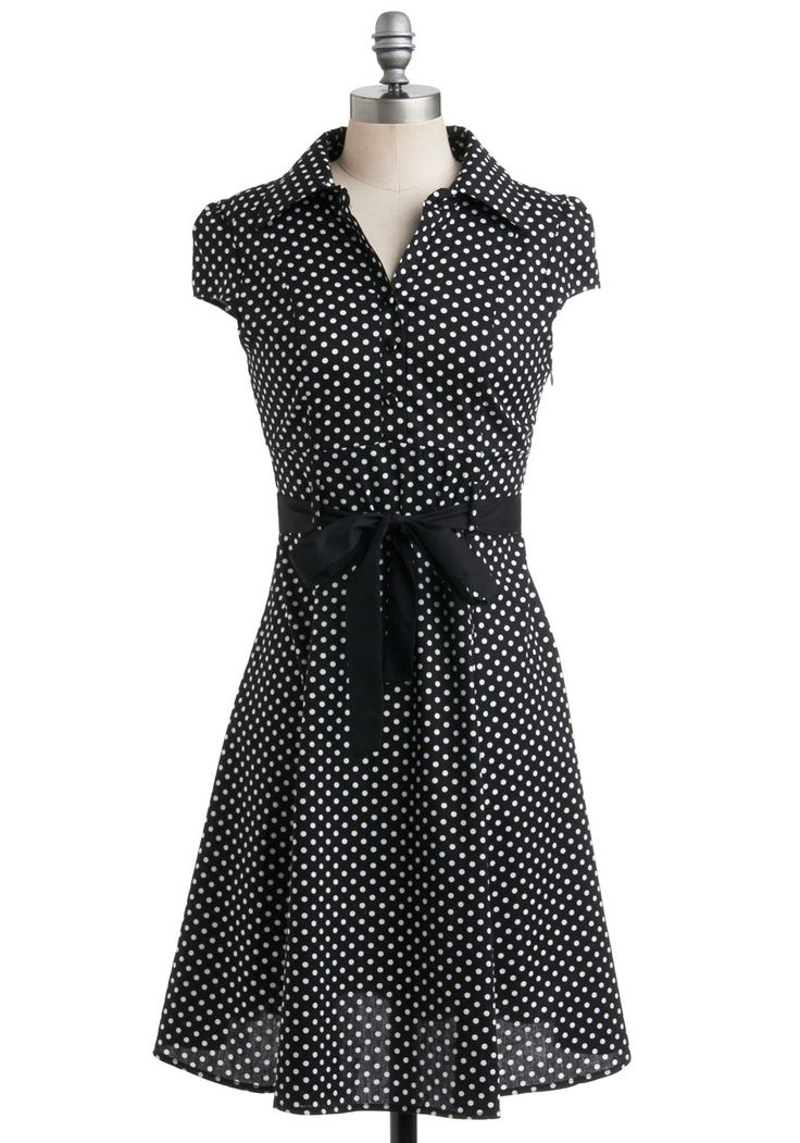 Hepcat Dress in Black Licorice, #ModCloth
