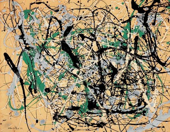 Jackson Pollock - Number 17, 1949