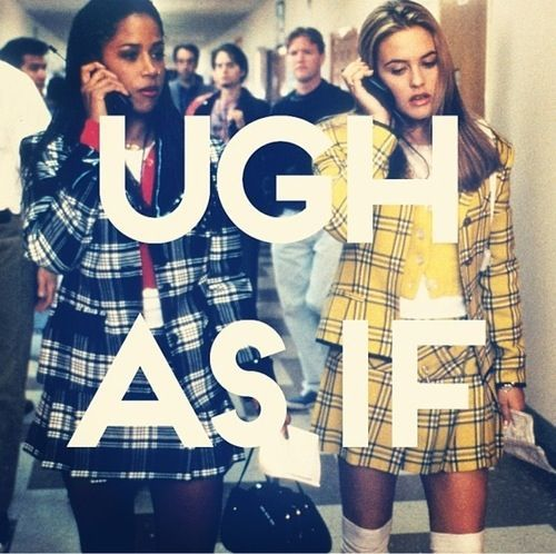 I truly believe this movie was the catalyst to my love affair with fashion!  #clueless #asif #CherHorowitzAlwaysAndForever