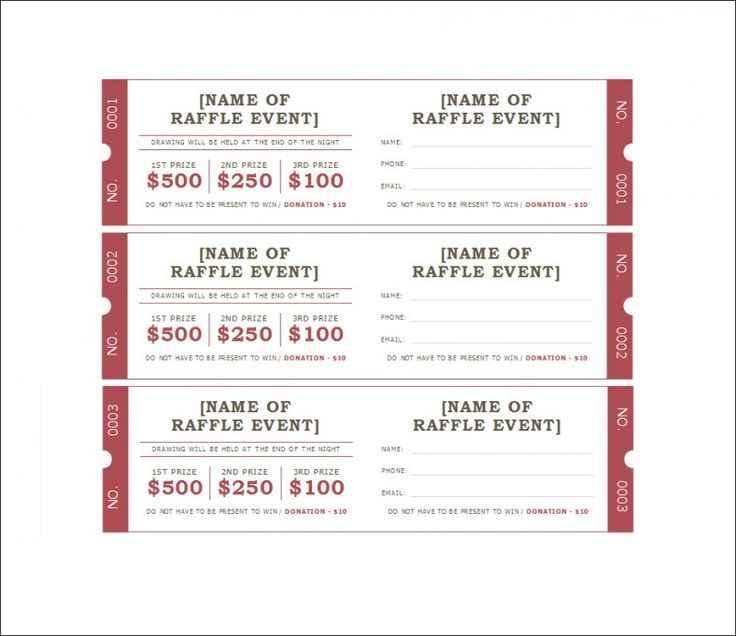 blank raffle ticket templates,event ticket template