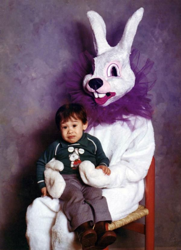 Easter Bunnies that are the exact opposite of cute and cuddly (30 Photos)