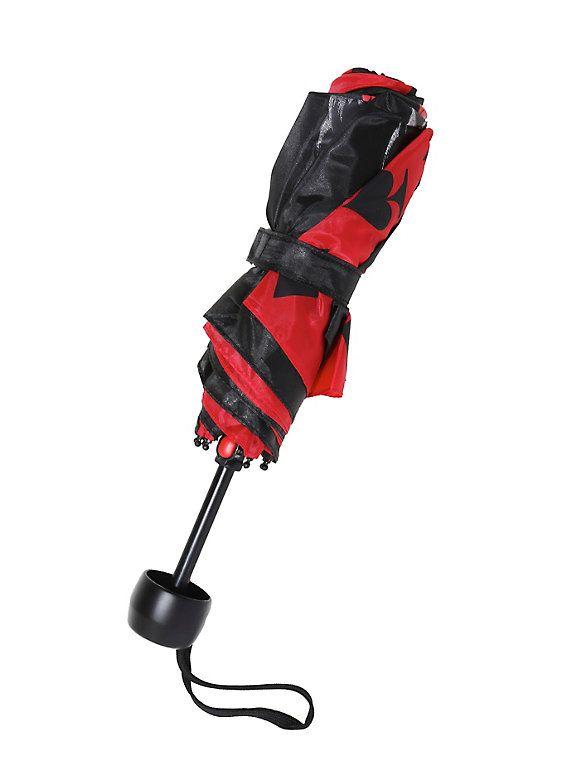 DC Comics Harley Quinn Compact Umbrella,
