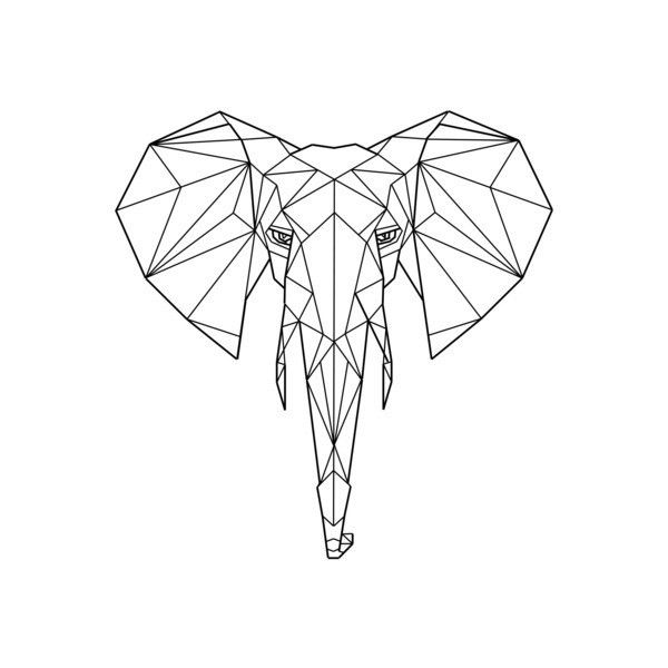 Best 20+ Geometric elephant tattoo ideas on Pinterest