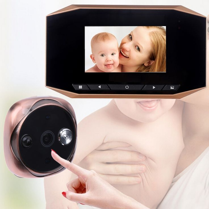 67.29$  Watch more here  - 3.5 inch LCD Visual Monitor Door Peephole 120 Degrees Doorbell Peep Hole Wireless Night Vision Camera Video Record Door Viewers
