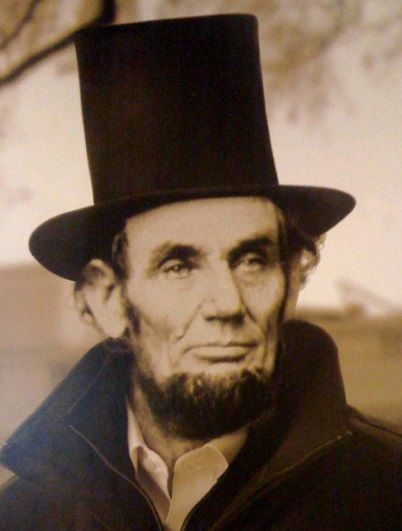 Top Hat - Abraham Lincoln and magicians are famous for the top hat which is a tall hat with a cylindrical shape.