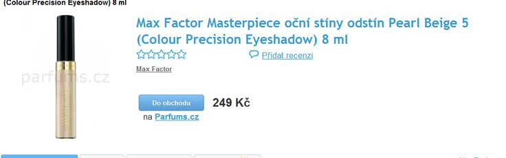 .Max Factor - Oční stíny použít jako rozjasnovač do kabelky