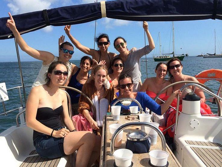 Festa di addio al nubilato con skipper 5 Terre. #festadiaddionubilato #addionubilato5terre #skipperclub #festabarcavela #barcavela5terre