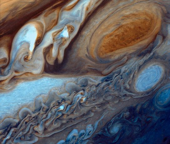 nasa image of the day | NASA Image of the Day – Jupiter's Great Red Spot Viewed by Voyager ...