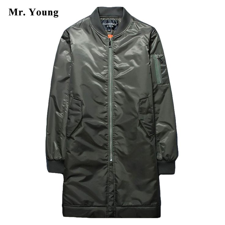 Thick Long Bomber Jacket | $ 72.39 | Item is FREE Shipping Worldwide! | Damialeon | Check out our website www.damialeon.com for the latest SS17 collections at the lowest prices than the high street | FREE Shipping Worldwide for all items! | Buy one here http://www.damialeon.com/brand-men-windproof-thick-long-bomber-jacket-men-over-knee-luxury-brand-pilot-bomber-jacket-men-ma-1-nasa-military-overcoat-826/ |      #damialeon #latest #trending #fashion #instadaily #dress #sunglasses #blouse…