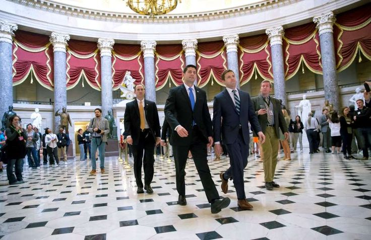 """WASHINGTON — Delivering at last, triumphant House Republicans voted Thursday to repeal and replace the """"Obamacare"""" health plan they have reviled for so long, overcoming united Democratic opposition and their own deep divisions to hand a major win to President Donald Trump."""