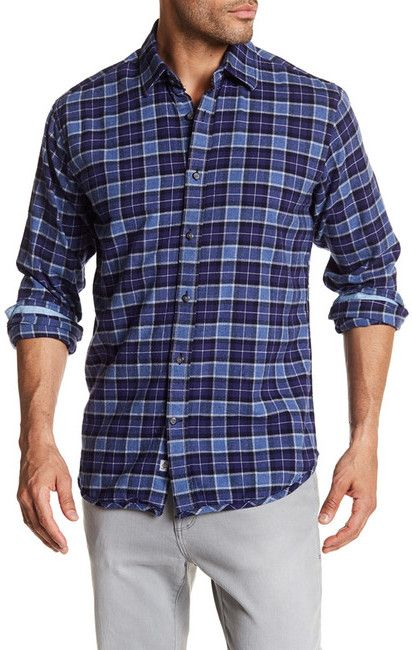 James Campbell Eclipse Flannel Shirt