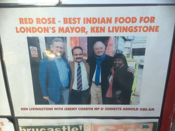Jeremy Corbyn and Ken Livingstone's favourite Indian restaurant