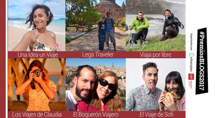 En la recta final de losPremios Blogs 2017(organizados porIMF Business SchooleInfoempleo),queremos conocer más de cerca a los nominados de la categoría de turismo. No solo hemos querido agradecerles su talento y trabajo de compartir contenidos interesantes para lectores interesados en viajes y conocer mundo,hemos querido realizarles este pequeño cuestionario. ¡No te pierdas sus respuestas! ¿Cómo surgió la idea de abrir un blog? Claudia Campos: Los viajes de Claudia nació con un paseo…
